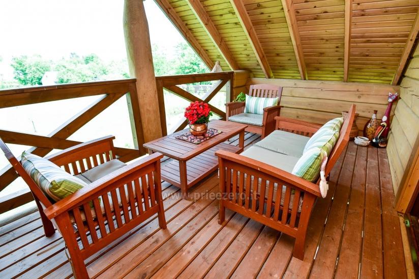 Rural tourism homestead Liepija: holiday cottages, hall, sauna, swimming pool - 38