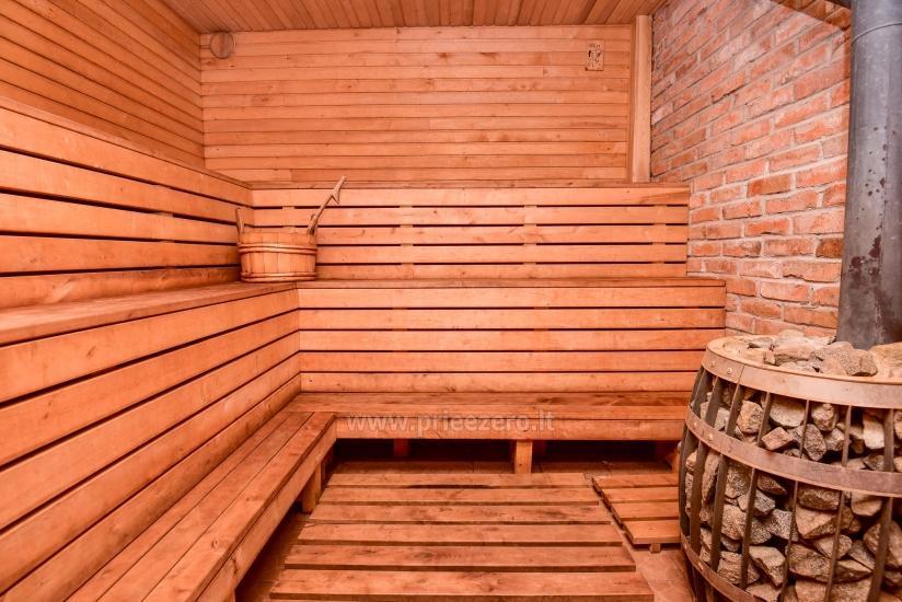 Rural tourism homestead Liepija: holiday cottages, hall, sauna, swimming pool - 39