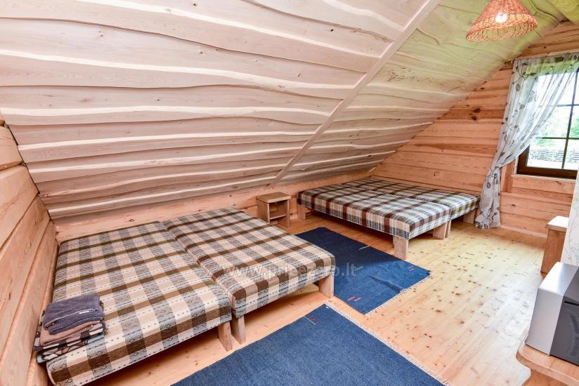 Rural tourism homestead Liepija: holiday cottages, hall, sauna, swimming pool - 41