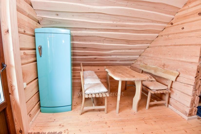Rural tourism homestead Liepija: holiday cottages, hall, sauna, swimming pool - 44