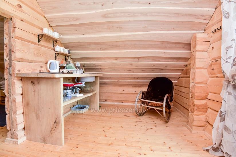 Rural tourism homestead Liepija: holiday cottages, hall, sauna, swimming pool - 45