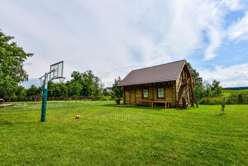Rural tourism homestead Liepija: holiday cottages, hall, sauna, swimming pool - 6