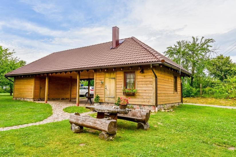 Rural tourism homestead Liepija: holiday cottages, hall, sauna, swimming pool - 47