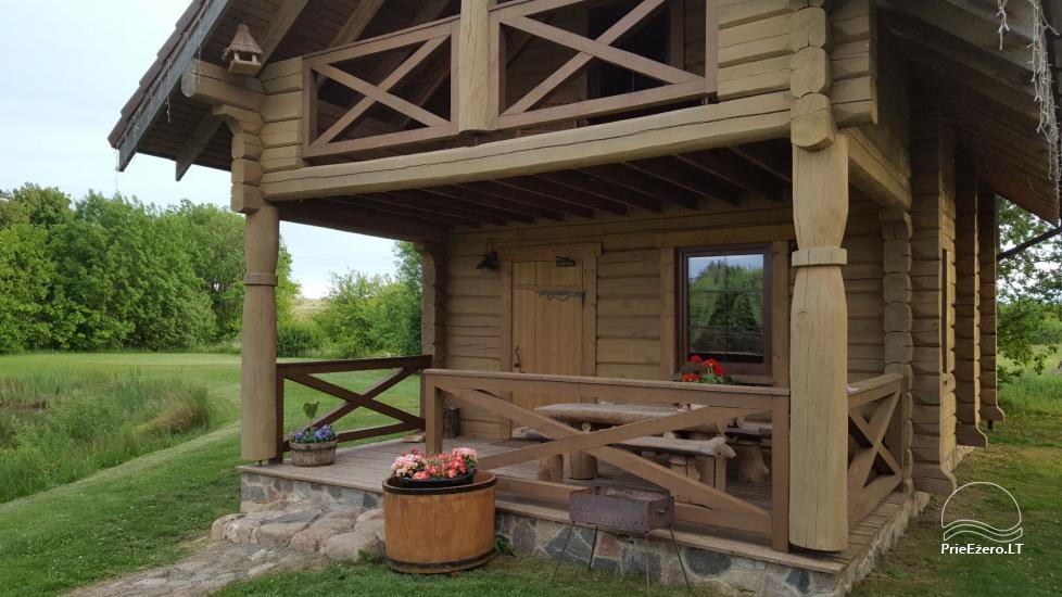 Rural tourism homestead Liepija: holiday cottages, hall, sauna, swimming pool - 13