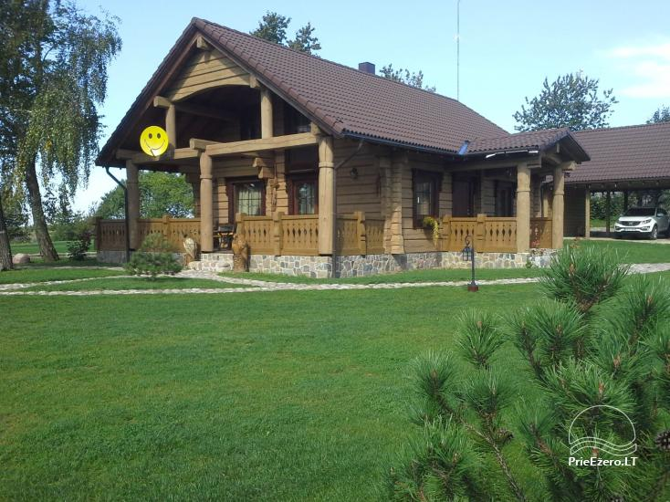 Rural tourism homestead Liepija: holiday cottages, hall, sauna, swimming pool - 3