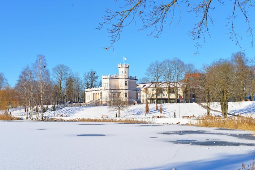Druskonis lake in winter