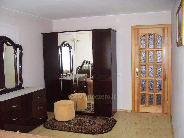 Lake view bedroom