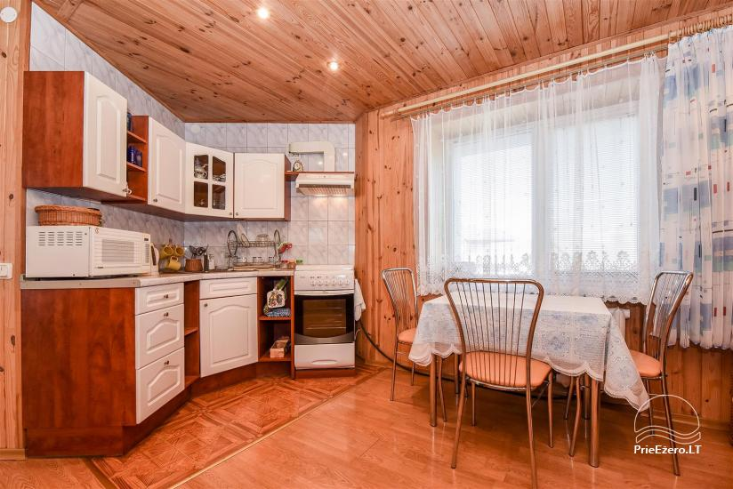Fully equipped kitchen - dining room