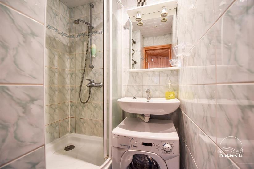 Shower, washing machine
