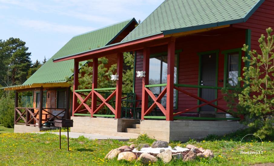 Homestead in Lazdijai area by the lake - 1