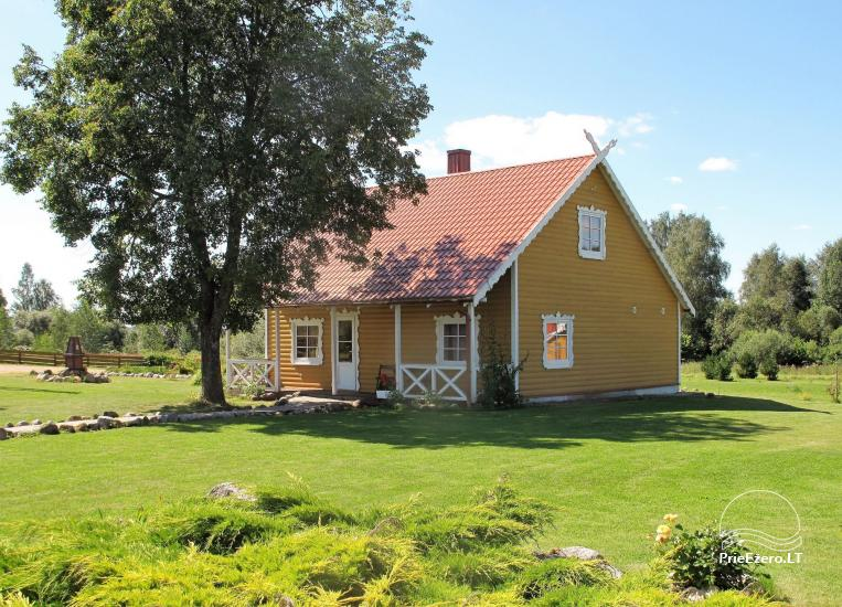 Homestead in Rokiskis region near the lake Sartai Sartakampis - 3