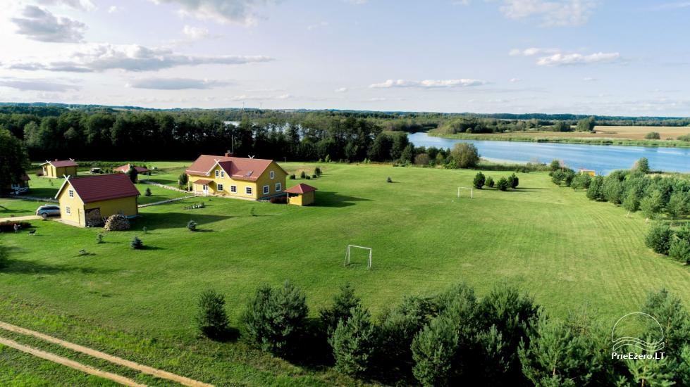 Homestead in Rokiskis region near the lake Sartai Sartakampis - 2