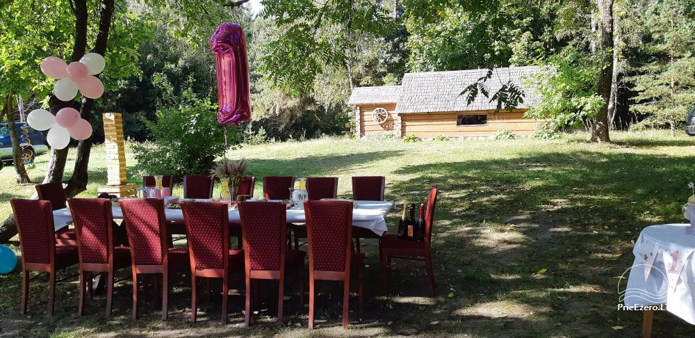 Усадьба сельского туризма Krakila - зал, баня, жилье для отдыха и праздника - 8