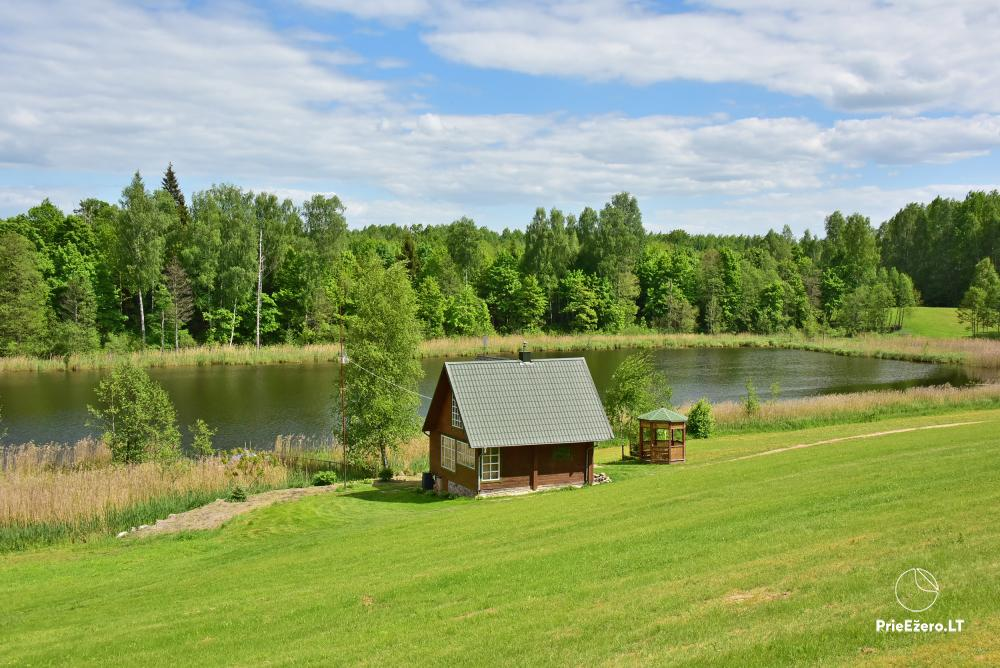 Countryside farmstead at the lake Delinis Pagriaumele - 1