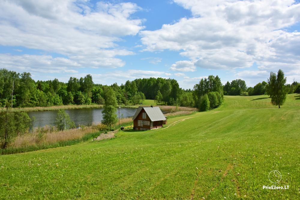 Countryside farmstead at the lake Delinis Pagriaumele - 2