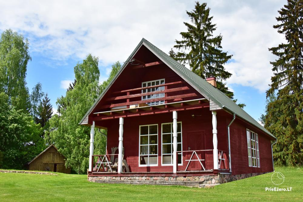Countryside farmstead at the lake Delinis Pagriaumele - 3