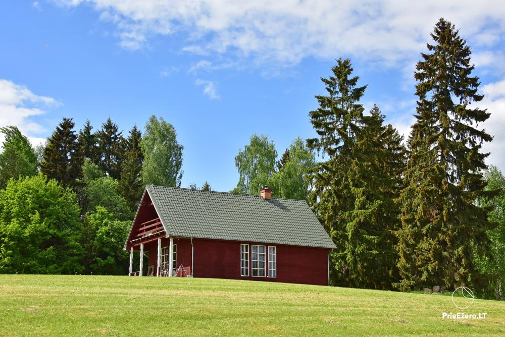 Countryside farmstead at the lake Delinis Pagriaumele - 31