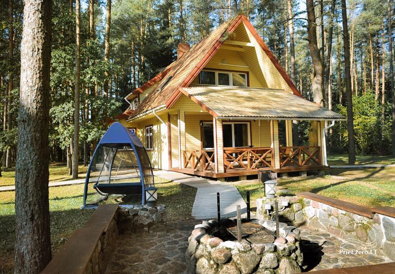 Villa in Plunge district at the lake Plateliai Plokštinė - 20