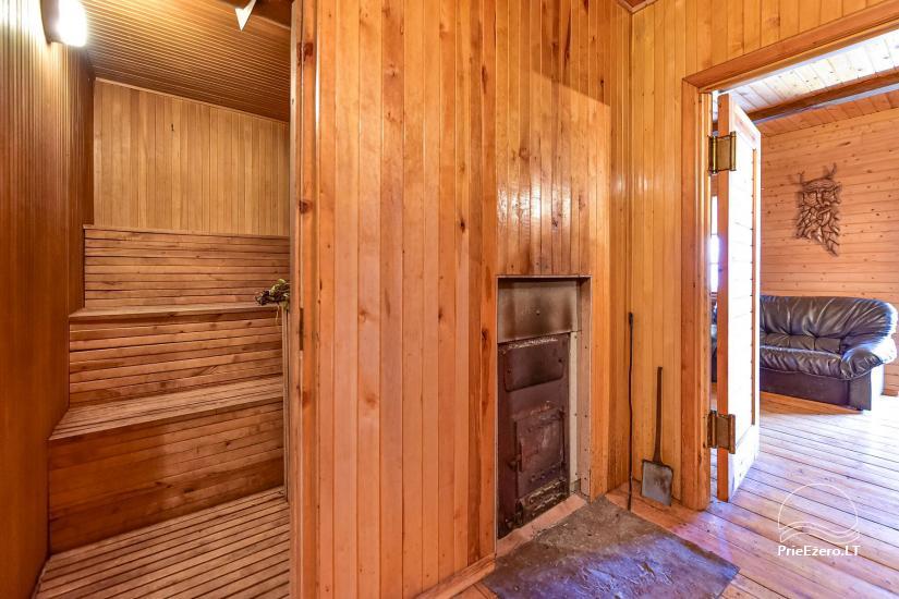 Fazenda, holiday cottages for rent in Prienai area - 9