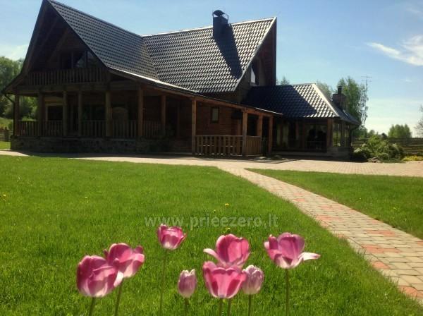 Homestead Raudesyne in Utena area - 50-seat hall for banquets, seminars - 1