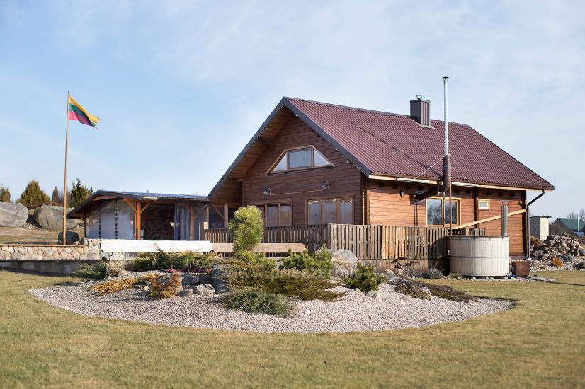 Homestead Visas dangus with banquet hall, bath and japanese tub in Panevezys district - 2