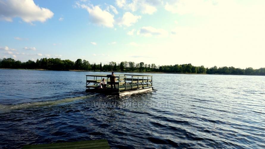 Viewing raft trip