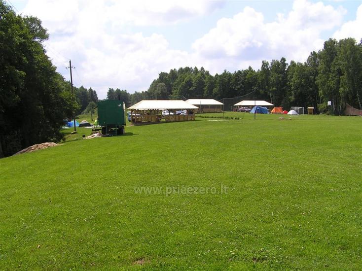 Campsite DRŪTŪNŲ BAIDARĖS in Ignalina area near the lake. With bath - 3