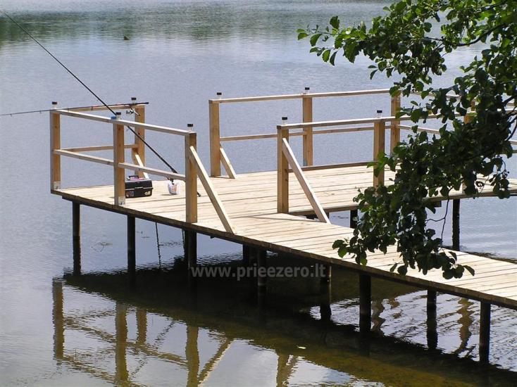 Campsite DRŪTŪNŲ BAIDARĖS in Ignalina area near the lake. With bath - 2