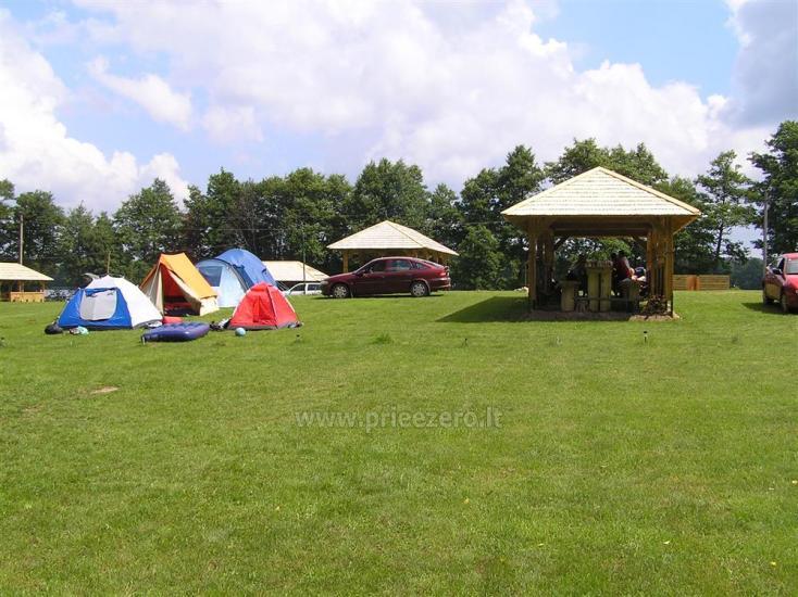 Campsite DRŪTŪNŲ BAIDARĖS in Ignalina area near the lake. With bath - 1