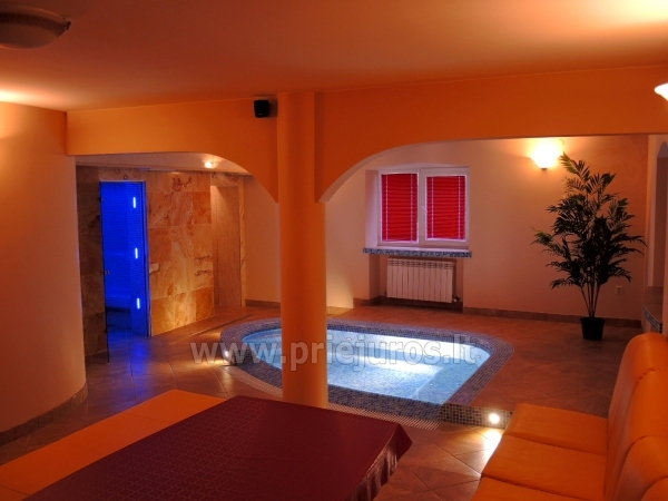 Accommodation, sauna and jacuzzi in Klaiepda - 1