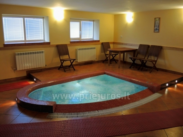 Accommodation, sauna and jacuzzi in Klaiepda - 7