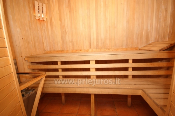 Accommodation, sauna and jacuzzi in Klaiepda - 9