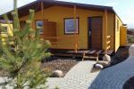 "New chalets ""Vasare"" 60 meters to the river Sventoji, 700 meters to the sea"