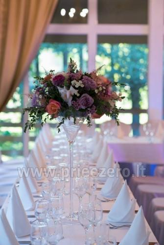 Place for rest Merkys: banquet hall, sauna, bedrooms - 10