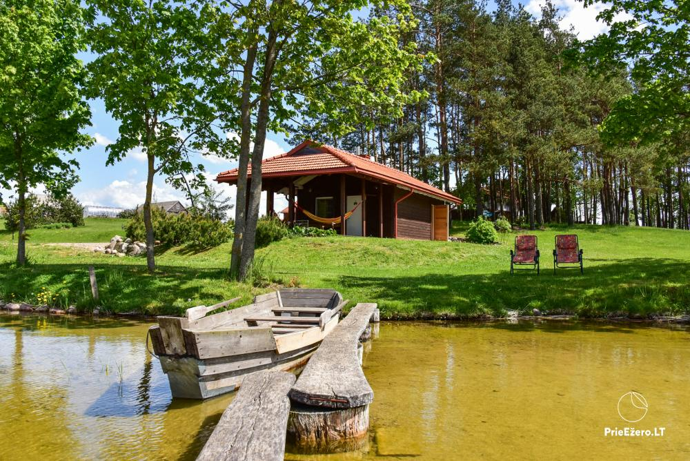 Homestead At elephant's: rooms, hall for 30 pers., sauna, kayaks - 21