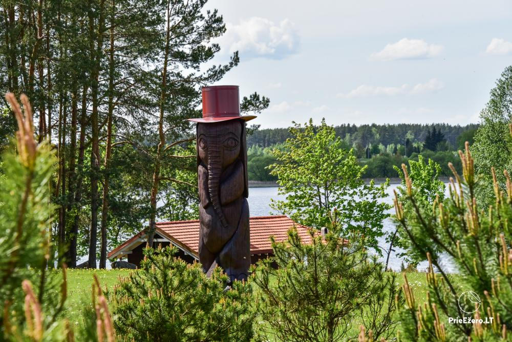 Homestead At elephant's: rooms, hall for 30 pers., sauna, kayaks - 14