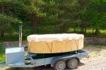 Sauna, hot tub on the shore Šešupė, kayak rentals - 6