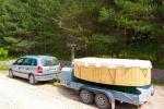 Sauna, hot tub on the shore Šešupė, kayak rentals - 5