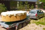 Sauna, hot tub on the shore Šešupė, kayak rentals - 4