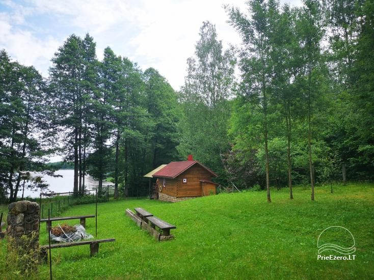 Villa with a bathhouse in Trakai. There is places for tents - 3