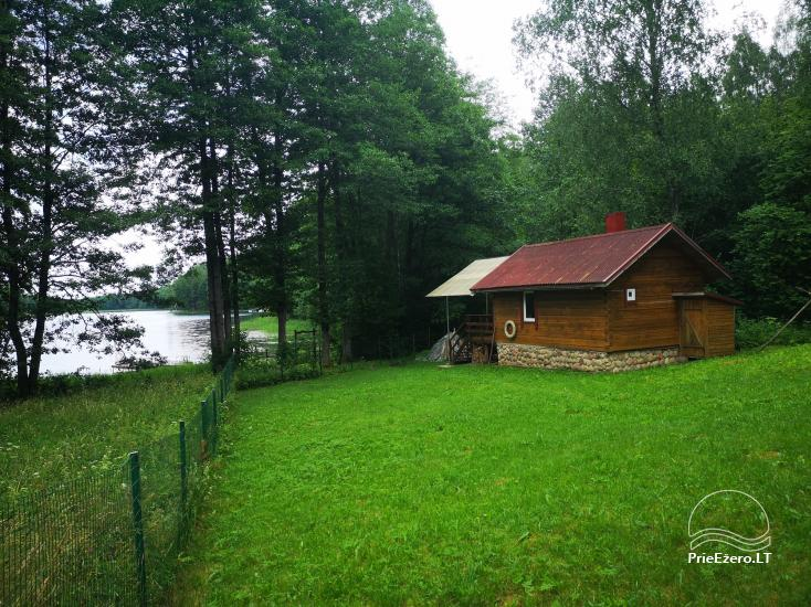 Villa with a bathhouse in Trakai. There is places for tents - 1