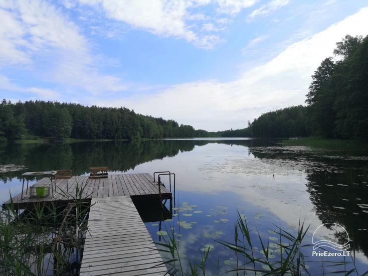 Villa with a bathhouse in Trakai. There is places for tents - 5