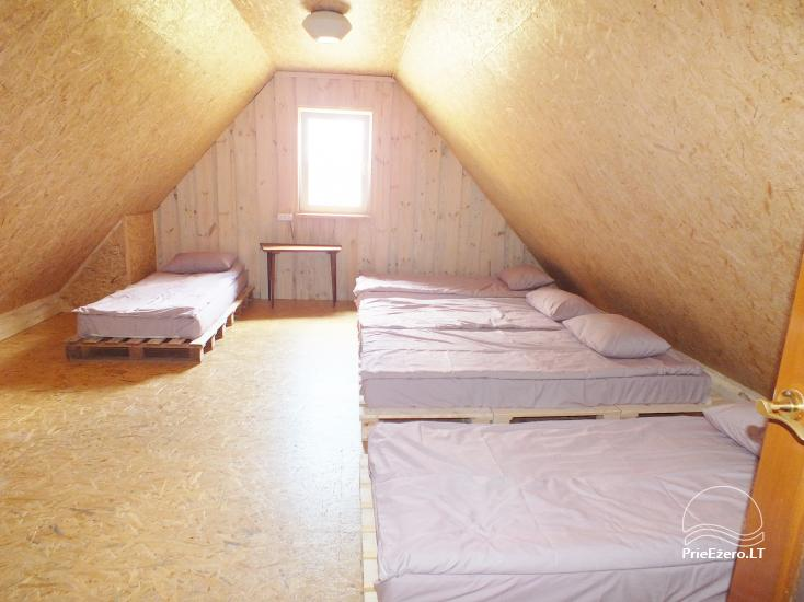 Rest place Gamtoje. Summerhouse, bath - 10