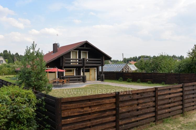 100 sqm. Log villa in Sventoji (Palanga) - 6