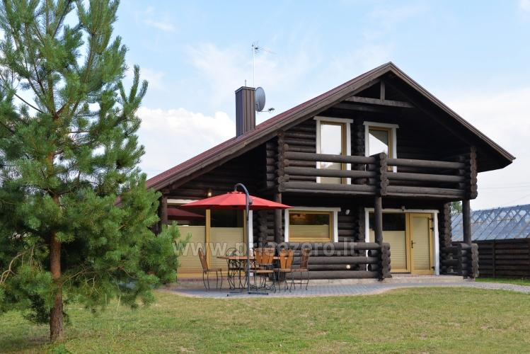 100 sqm. Log villa in Sventoji (Palanga) - 1