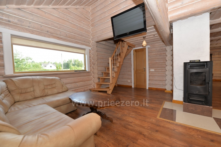 100 sqm. Log villa in Sventoji (Palanga) - 9