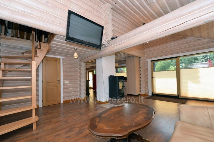 100 sqm. Log villa in Sventoji (Palanga) - 10