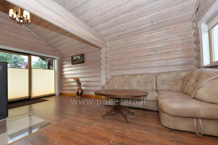 100 sqm. Log villa in Sventoji (Palanga) - 11