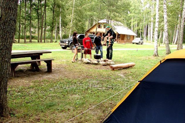 Camping Muižnieki in Latvia near the lake Usmas - 7