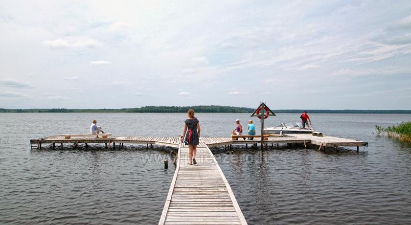 Camping Muižnieki in Latvia near the lake Usmas - 1